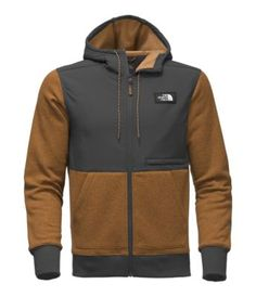 Track down tent-friendly flats in Shenandoah National Park in this warm, full-zip fleece that features durable, nylon overlays to prevent tears.