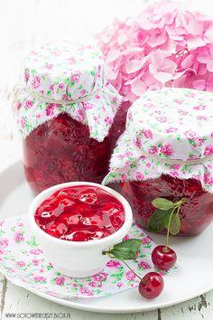 Frużelina wiśniowa - przepis