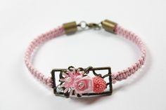 """Armband """" Rosengarten """" von Creativablue - Home auf DaWanda.com"""