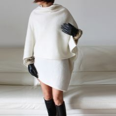 wool cape, wool shawl, 2015 winter fashion white woolen cape