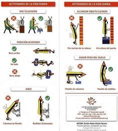 Posturas adecuadas para evitar la sobrecarga muscular