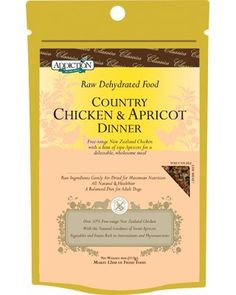 Addiction Raw Dehydrated Grain-Free Dog Food, Country Chicken and Apricot, 4oz « dogsiteworld.com