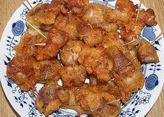bůčkové kostky Bucky, Tandoori Chicken, Chicken Wings, Pork, Cooking Recipes, Meat, Ethnic Recipes, Cooking, Kale Stir Fry