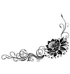 Lotus flower vector 1734874 - by christine-krahl on VectorStock®