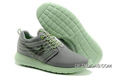 c7d076fbdf765 Nike Roshe Run Gamma Grey Light Charcoal Cyber Barely Volt Mens TopDeals
