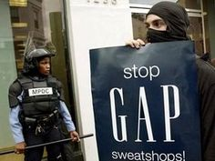 In 2007 Gap was accused of using illegal sweatshops using child labour in India. However since then, Gap is trying to become a more ethical and sustainable brand than before. They have carried out different schemes to try and improve their image. These can be seen in other boards on my Pinterest.