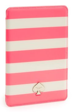 kate spade new york 'jane' stripe iPad mini case available at #Nordstrom