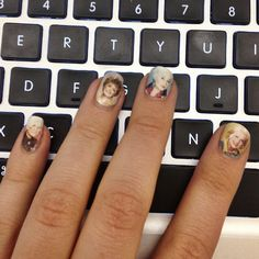 This wasn't done by hand but I couldn't help it, too cool. Woooo golden girls