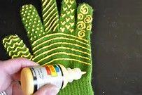 DIY Tutorial Quilting Gloves