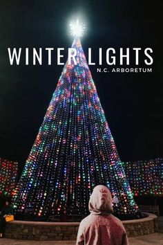 If the Winter Lights at the North Carolina Arboretum will not put you in the Christmas spirit, then I don't know what would. 🙂 This is their 6th year of having the lights at the arboretum and I have been wanting to see them. We've been to the arboretum before when they had this exhibit …