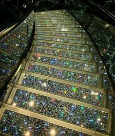 If you love Bling... would you be able to install stairs like this in your house?
