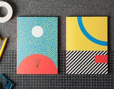 (via Write Sketch & | Super Collection | Notebooks on Behance)