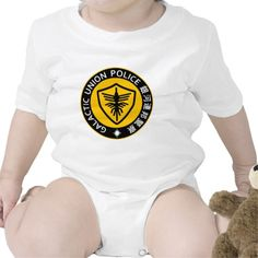GUP Gavan the Space Sheriff Type 05 Baby Bodysuit. Kamen Rider Club and Space Cop Gavan the Galactic Union Police
