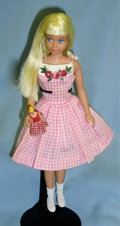 I saw an ad for this doll in an old magazine at my Grandma's when I was a kid and I really wanted it for the mini Barbie doll.