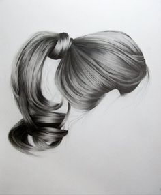 """andkate-iloveyou: """"castleloverforever: """" caskettoficecubes: """" katherinestanabeckett: """" """" Hyper Realistic Hair Drawings by Brittany Schall """" So.. I don't know about you, but i see beckett """" I see..."""