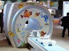 Ambientación de sala de resonancia magnética