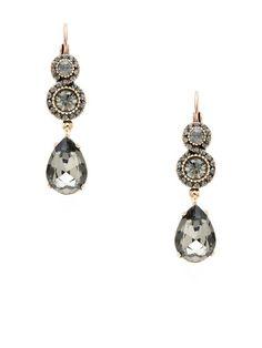 Round & Teardrop Earrings