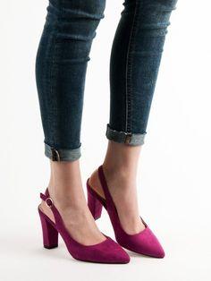 Lodičky s otvorenou pätou Pumps, Heels, Fashion, Heel, Moda, Fashion Styles, Pumps Heels, Pump Shoes, High Heel