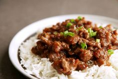 Crispy Ginger Beef from alyssaandcarla.com