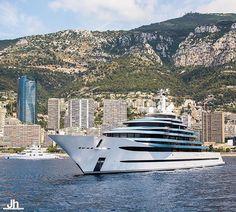 JUBILEE (110m) taken in Monaco 🇲🇨 by @julien_hubert #millionairelifestyle