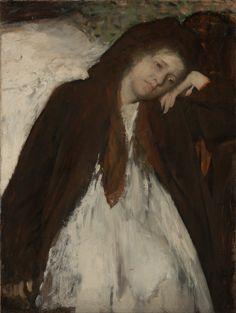 """The Convalescent"", 1887, Edgar Degas."