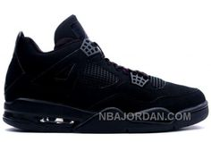 308497-002 Air Jordan 4 Black Cat Black Black A04002 Online 326129