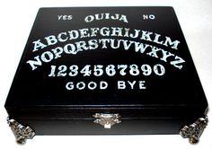 Ouija Keepsake / Jewelry Box by hauntedmanor on Etsy, $60.00