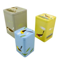 Set of 3 Vintage Style Birdy Tins (£15.00) Gorgeous, fun and quirky gifts for you and your home Hunkydory Home