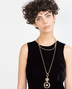 Image 2 of DOUBLE CHAIN NECKLACE from Zara