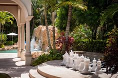 Marc Bell Selling Star Trek House - play a game of chess in the outdoors by the pool