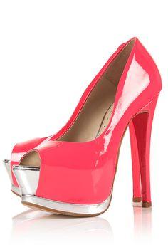 Zapato Topshop rosa