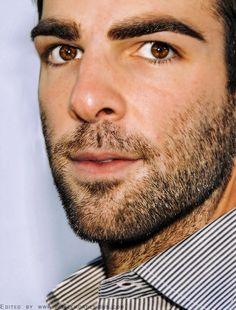 Zachary Quinto's beautiful eyes