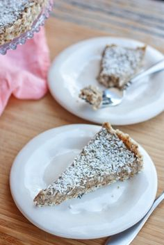 Healthy Coconut Cream Pie & Pi Day Roundup - Eating Bird Food - vegan and gluten free