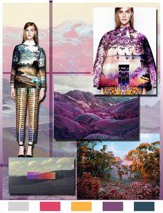 Picturesque Source by Lamodaist 2016 Fashion Trends, 2014 Trends, Color Patterns, Print Patterns, Festival Trends, E Textiles, Fashion Communication, Trend Council, Fashion Design Portfolio