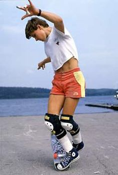 Rodney Mullen is one of my all time fave skaters - I grew up watching him skate - he is truly inspiring!