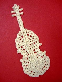 Ravelry: Violin Motif pattern by Chinami Horiba