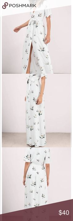 9e8b1540a8509 Gorgeous floral dress from Tobi NEVER WORN. I will never fall out of love  with