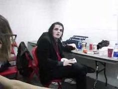 "An excerpt from My Chemical Romance's dvd ""Life On The Murder Scene"", where Frank kicks Gerard in the balls while onstage, while Gerard tells his side of the. Emo Bands, Music Bands, Vegas Lights, Fanfiction, Black Parade, Gerard Way, Wattpad, My Chemical Romance, It Hurts"