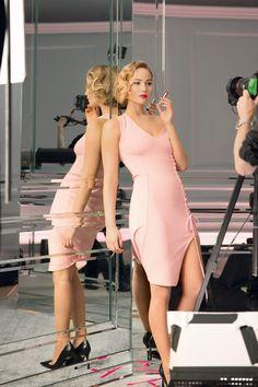 Jennifer Lawrence, Promotional pictures for Jennifer Lawrence's Dior...