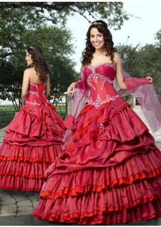 2f4130c655 Purple Red Sweet 16 Dress with Layered Skirt. This princess dress comes  with sweetheart neckline