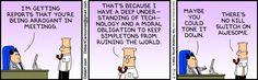 Arrogant in Meetings