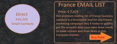 FRANCE EMAIL LIST | Ceo Email List