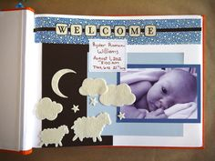 "How to Make a ""Baby's First Year"" Scrapbook"