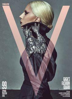 Lady Gaga for V Magazine (January 2016)