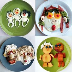 Here are some very #creative #breakfast ideas for both children and grown up children!