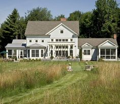 Modern Farmhouse Style...YES YES! Website has more picts w/ interior...YES I will take it all!