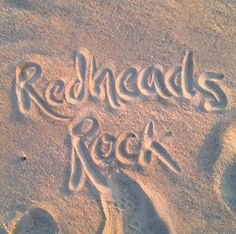 Redheads Rock Quote