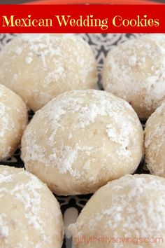 Mexican Wedding Cookies - Nifty Thrifty Savings