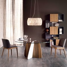 Solidna podstawa #modern #table #glenn #italian #taste #home #design #cattelanitalia