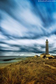 The lighthouse in Skagen, Denmark
